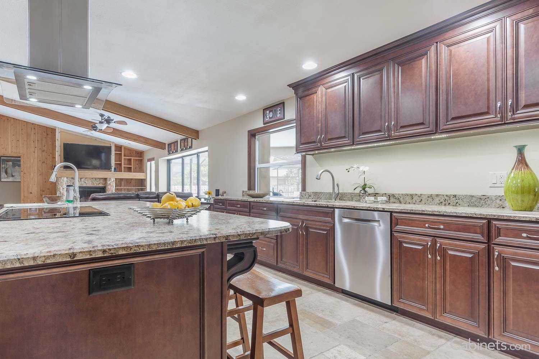 springfield maple java coffee glaze traditional kitchen cabinet kitchen on kitchen cabinets java id=84929