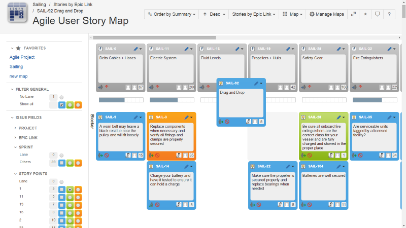 Agile User Story Map User Story Mapping Agile User Story Story Map