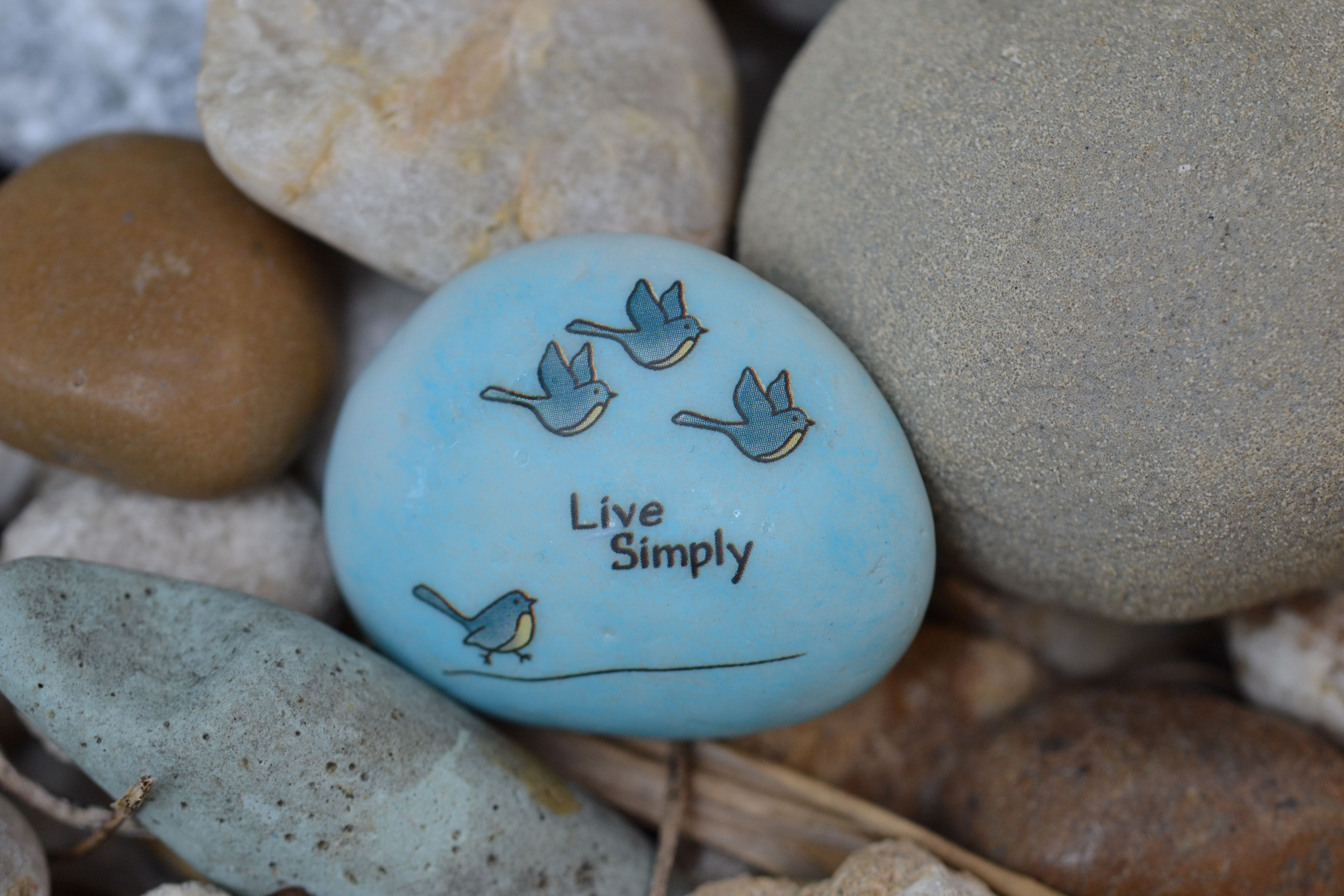 Live simply rock that rocks!