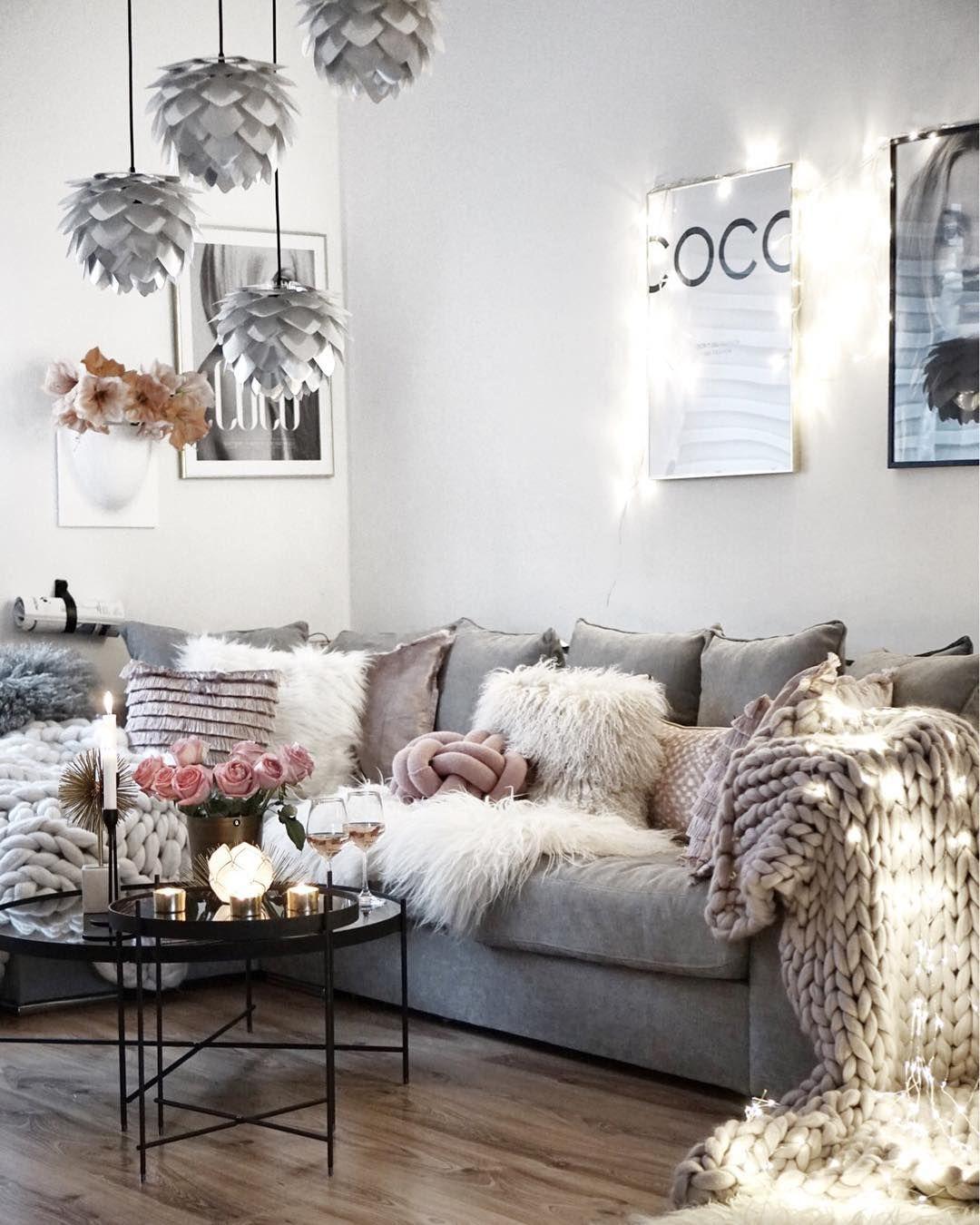 Instagram livingroom wohnzimmer wohnzimmer schlafzimmer und wohnzimmer ideen - Wohnzimmer romantisch einrichten ...
