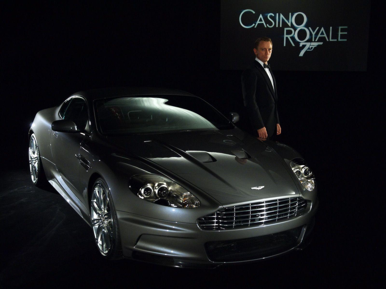 Aston Martin Dbs James Bond Casino Royale Daniel Craig 2006 Aston Martin Dbs James Bond Voiture