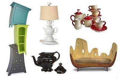 Bric à Brac Alice In Wonderland Inspired Furniture