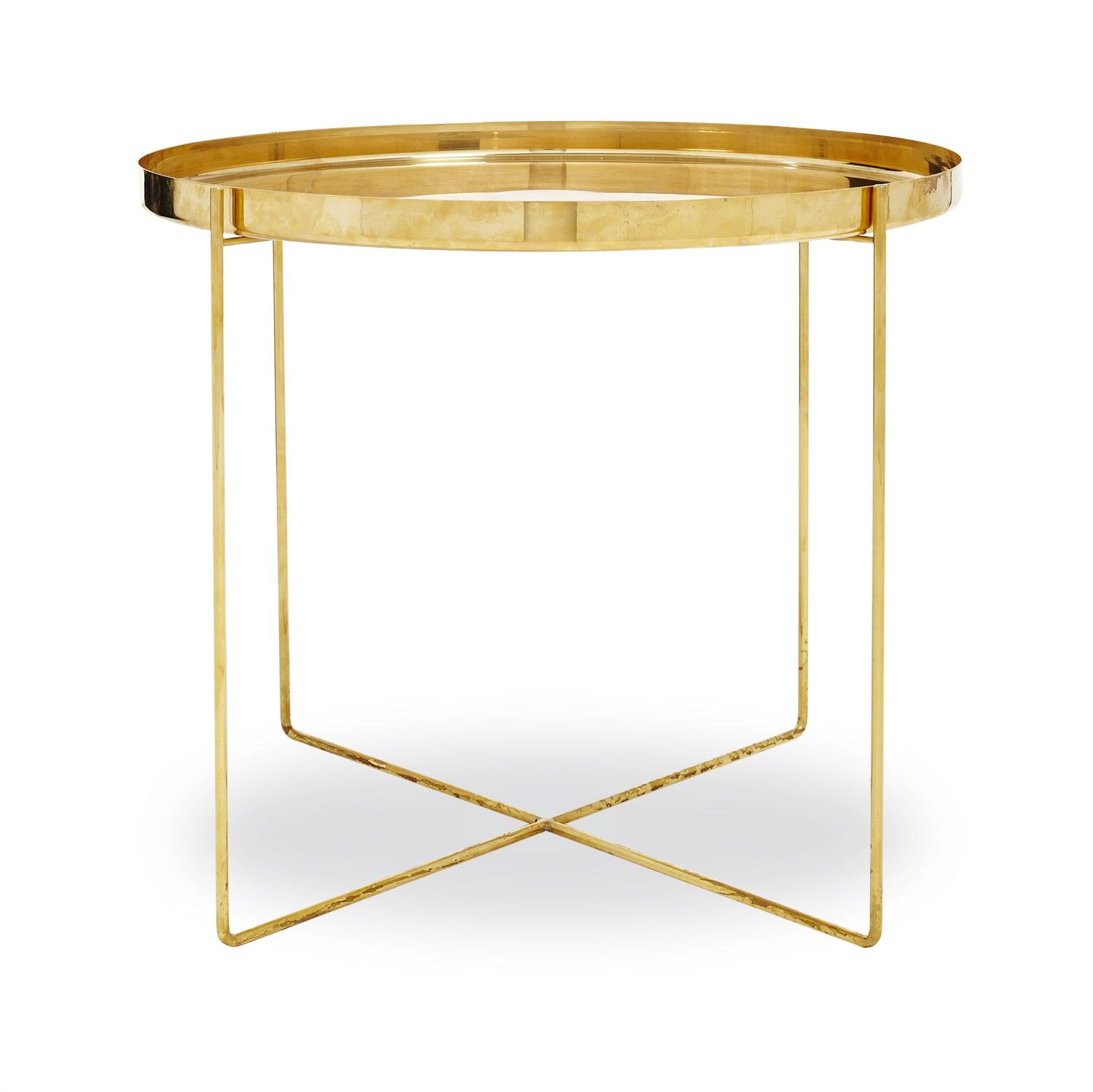 Simple yet strikingly sculptural the Ornate side table is