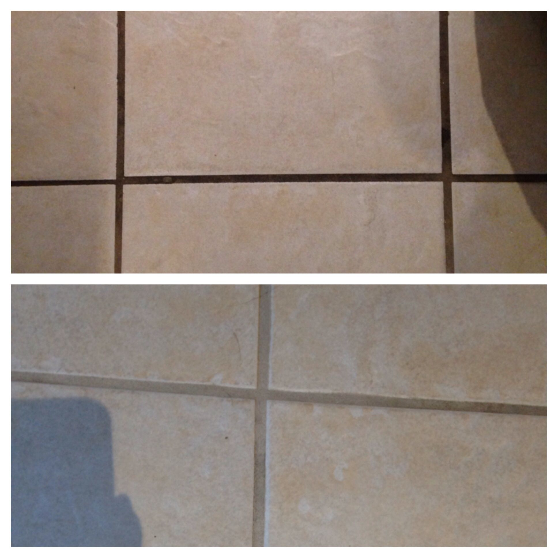 Cleaning ceramic tile grout Cleaning ceramic tiles, Tile