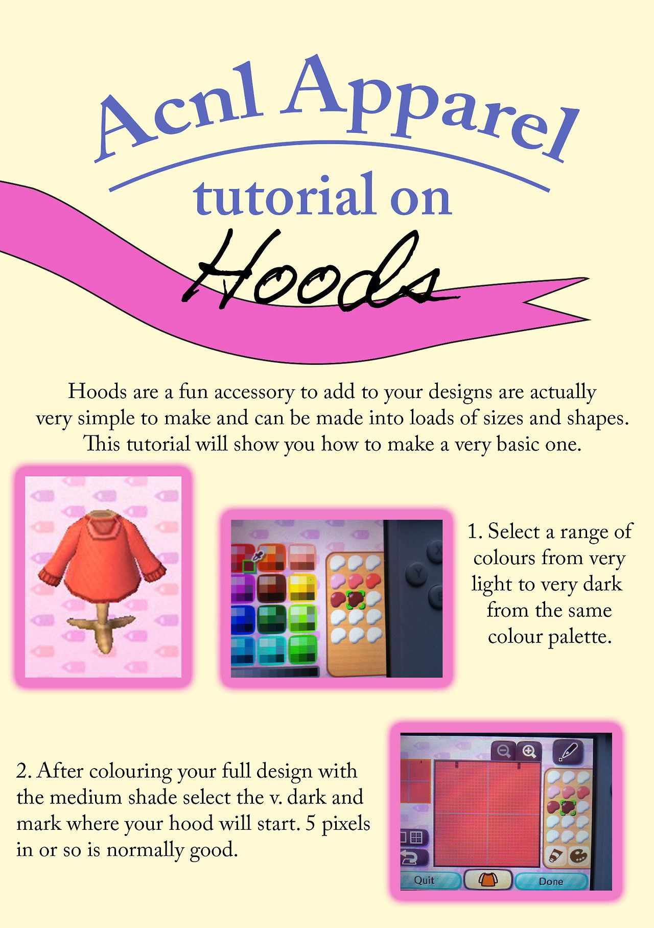 Acnl Hoodie Tutorial Animal Crossing Acnl Qr Codes Animal Crossing