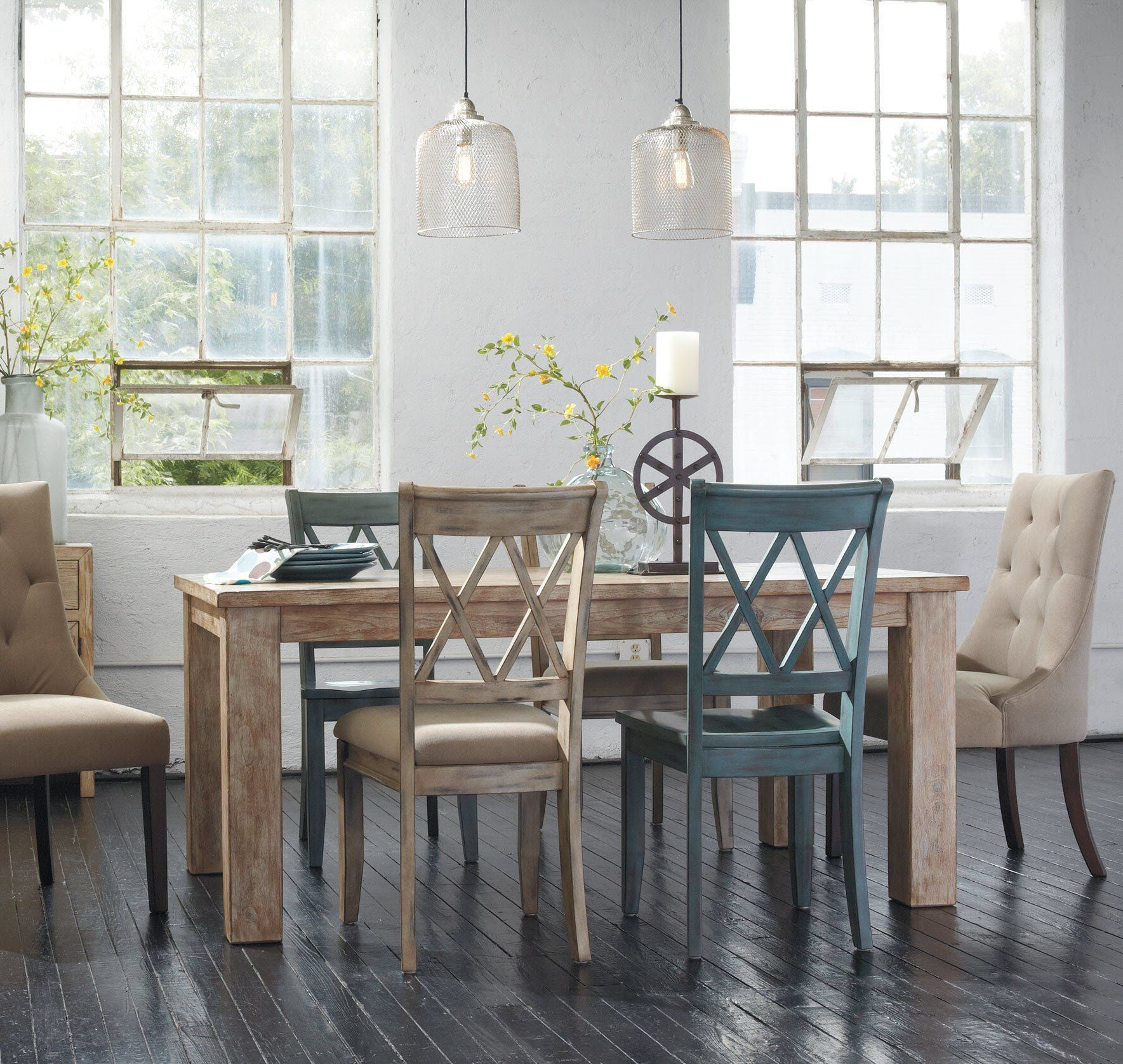 Outstanding Ashley Furniture Signature Design Mestler Dining Side Chair Home Interior And Landscaping Dextoversignezvosmurscom