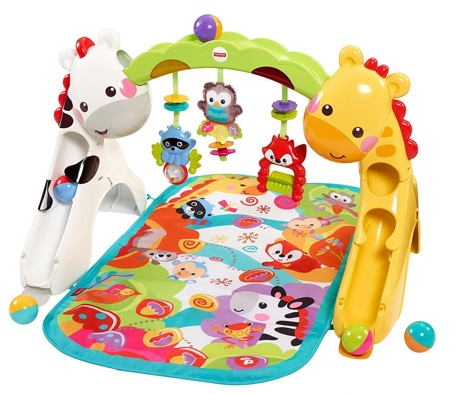 Fisher Price Newborn To Toddler Play Gym Rainforest 3 Grow With Me Stages Lay And Play Sit And Play And Stand And Toddler Play Play Gym Toddler Activities