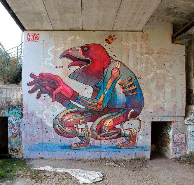Foto: • ARTIST . ARYZ • ◦ Untitled ◦ location: Granollers, Spain