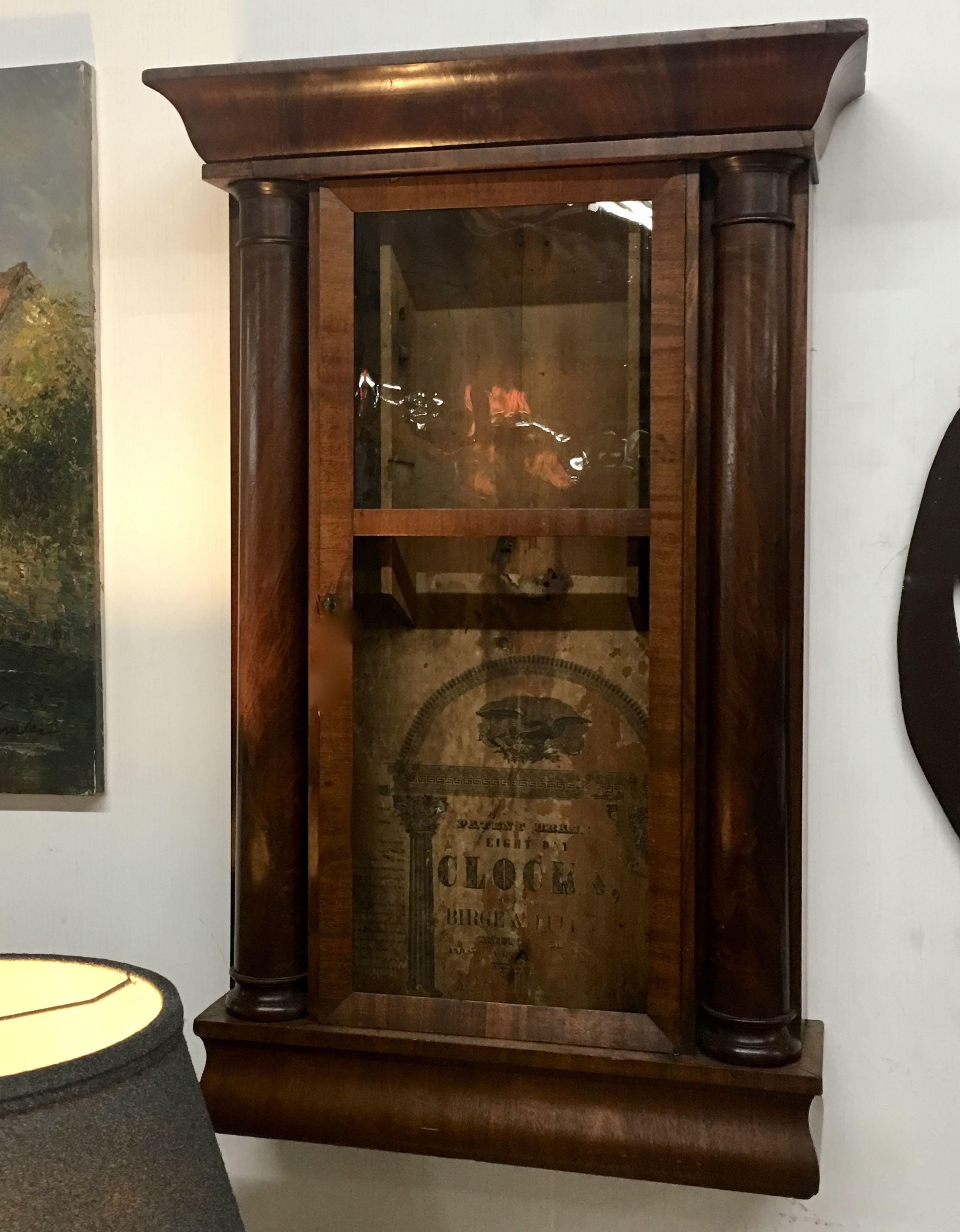 Vintage Clock Box Dealer #0116 31\