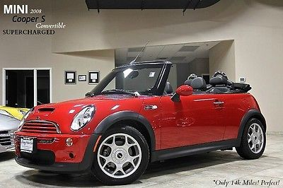 2008 Mini Cooper S Convertible Only 14k Miles 6 Speed Manual Supercharged Wow Mini Cooper S Used Mini Cooper Mini Cooper For Sale