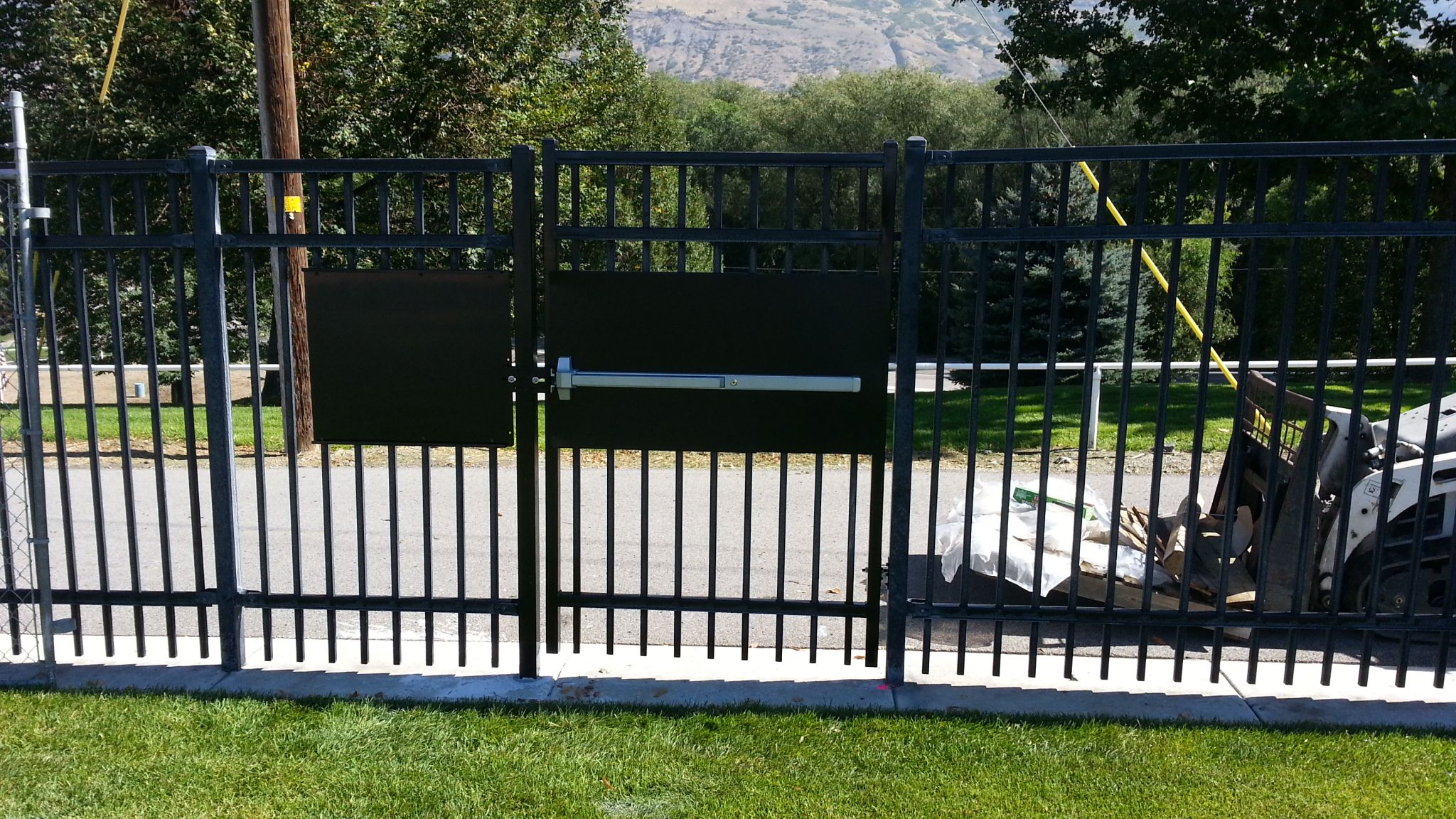 Ornamental Iron Fence Utah Iron Fence Outdoor Decor Outdoor