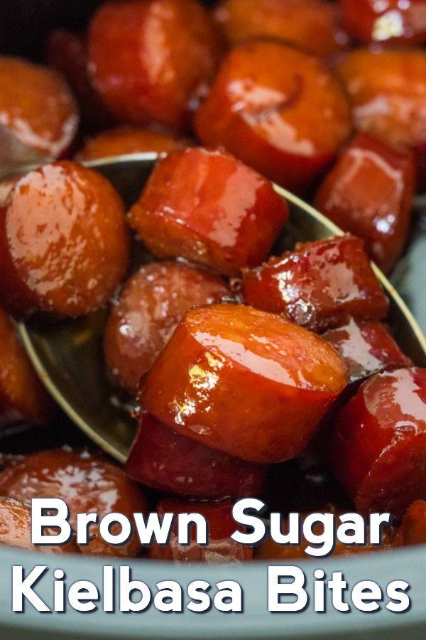Photo of Slow Cooker Brown Sugar Kielbasa Bites