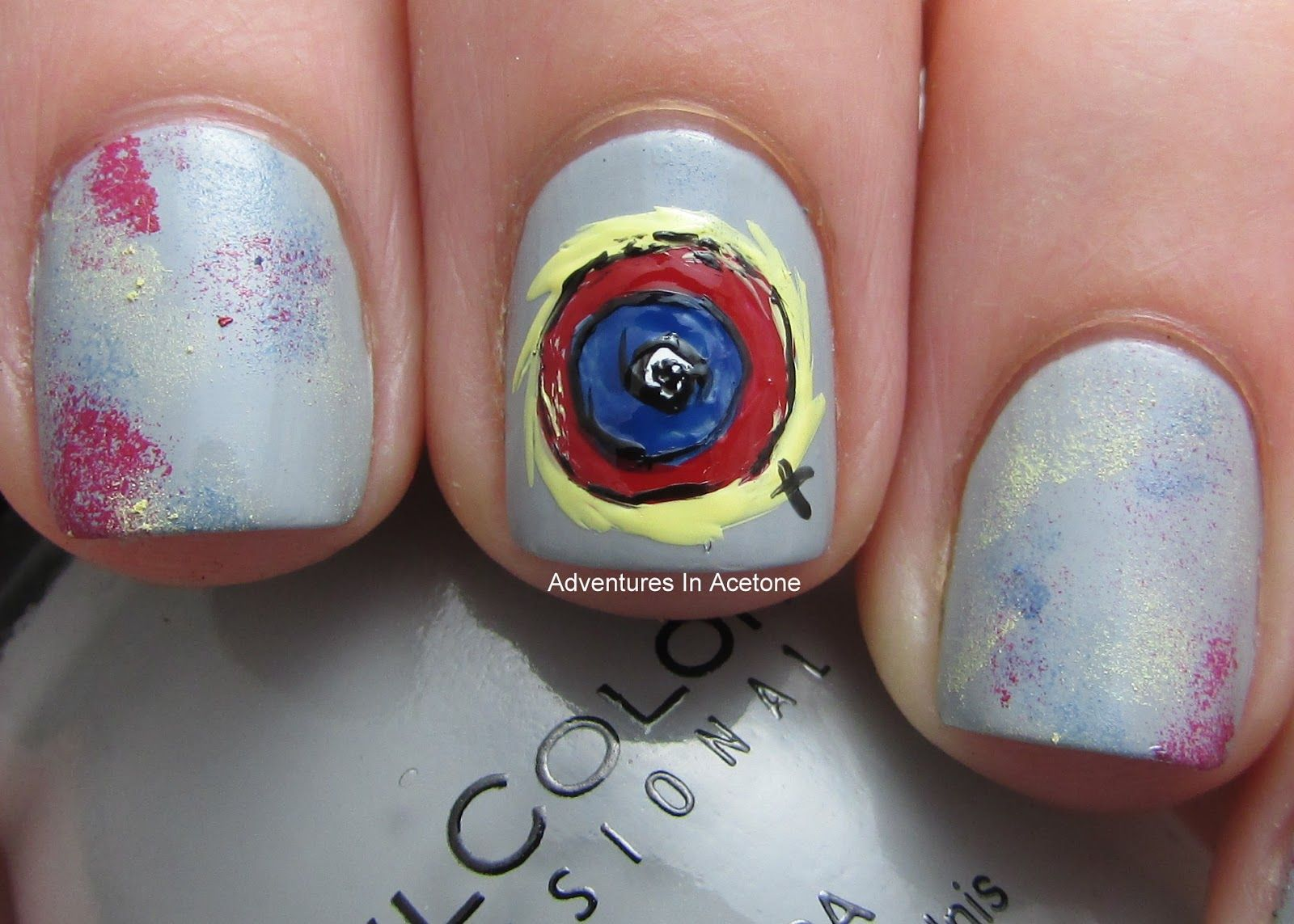 Battlestar+Nails+2.JPG (1600×1143)   Nail art   Pinterest
