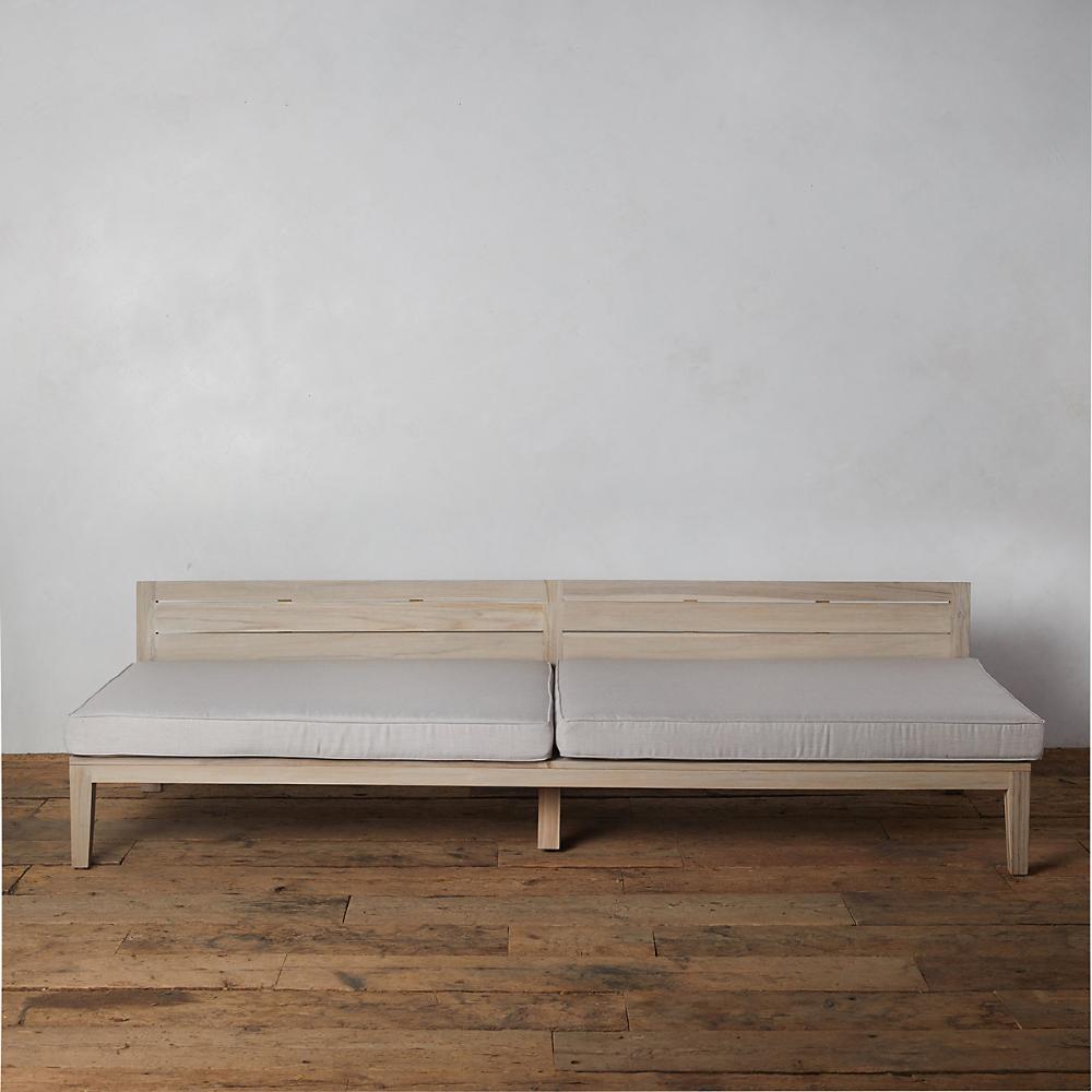 Vista Slatted Teak Extra Large Sofa Cushions Set Of 2 In 2020