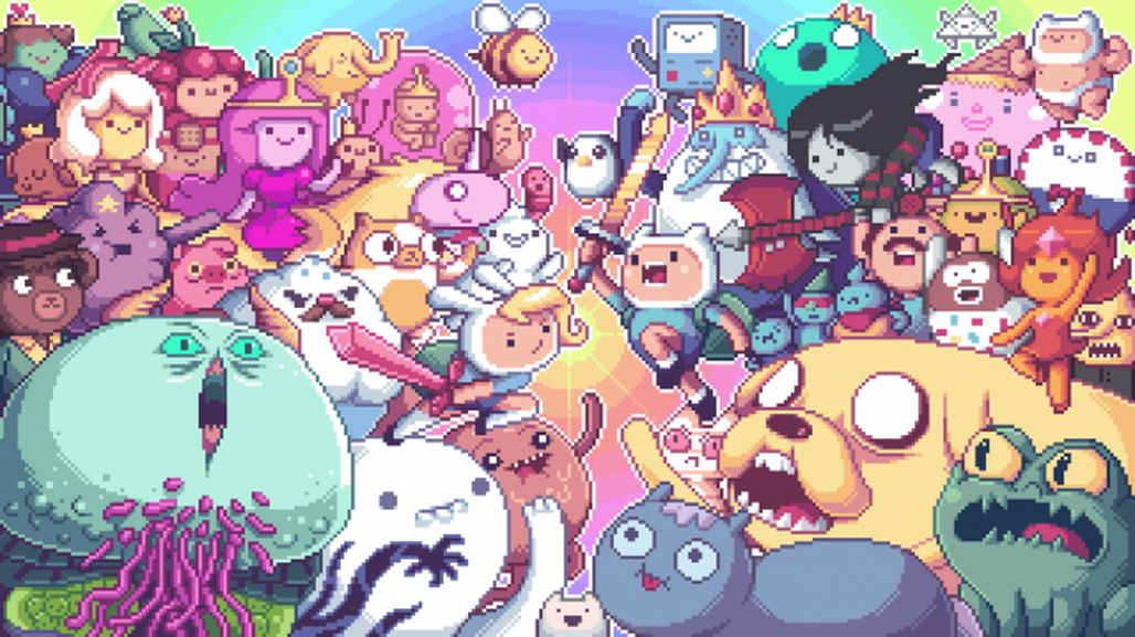 adventure time poster - Google Search hora de aventura pixelado