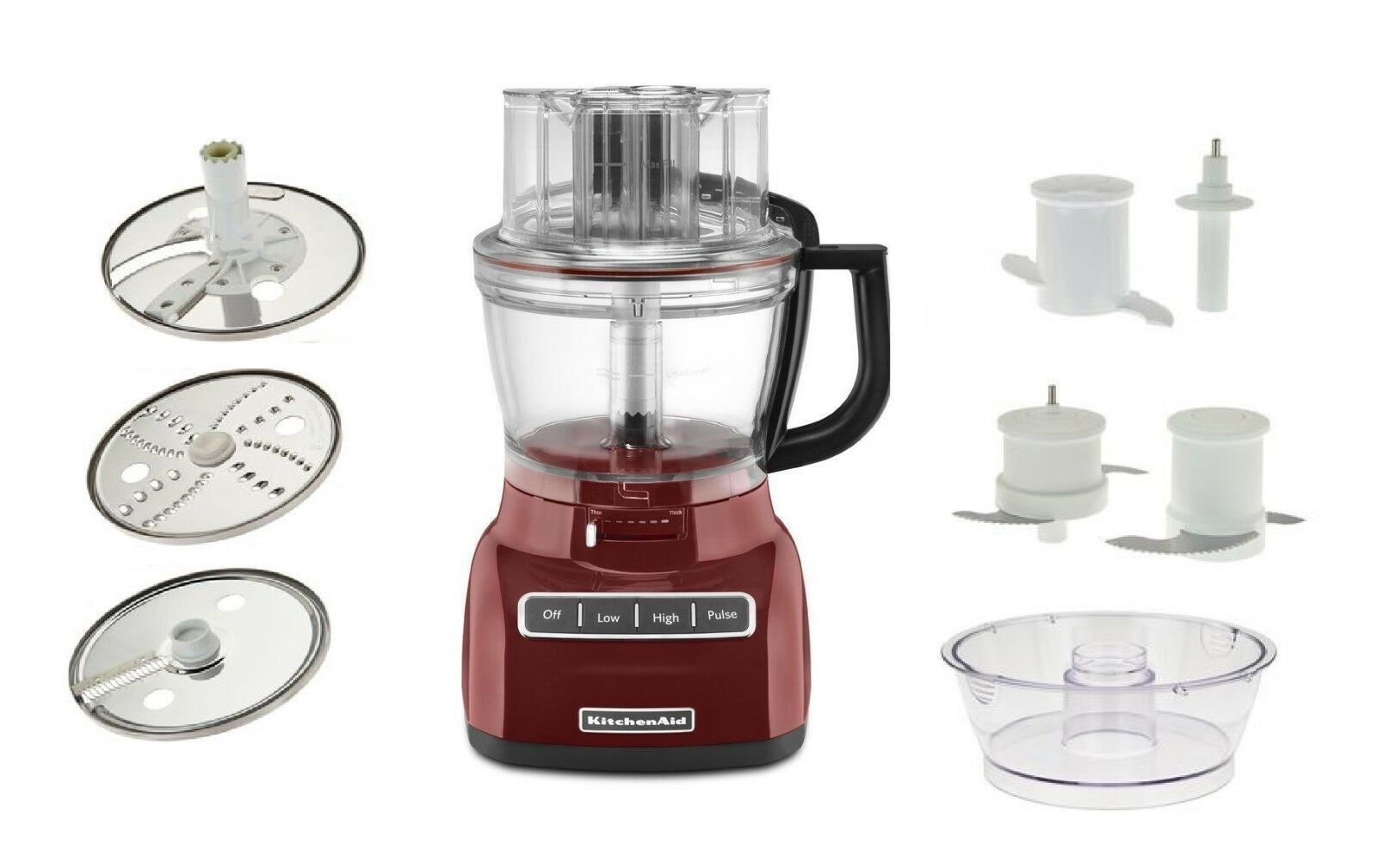 Kitchenaid Kfp0930 9cup Wide Mouth Food Processor Large Exact
