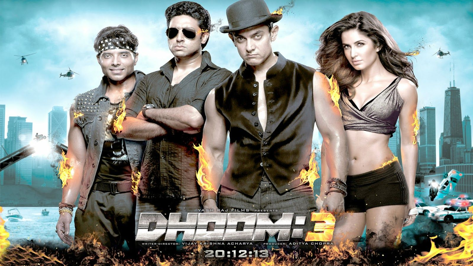 Download Latest Image Gallery Of Dhoom 3 Wallpapers From Hd Wallpapers Blog Our High Quality Wallpapers Is Best Co Bollywood Movie Dhoom 3 Bollywood Movies