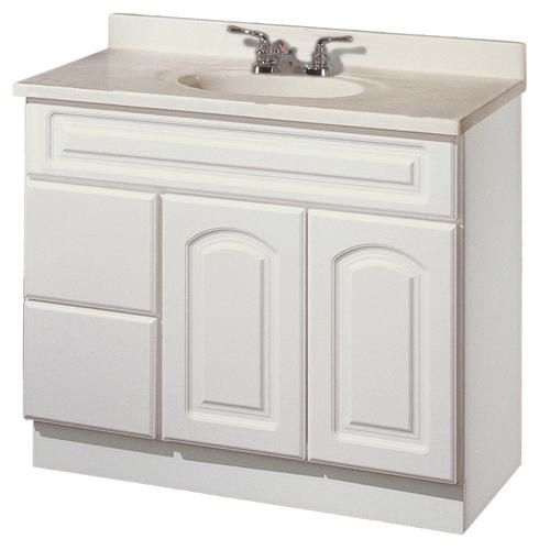 Pace St Clair Series 36 X 18 Vanity With Drawers On Left For