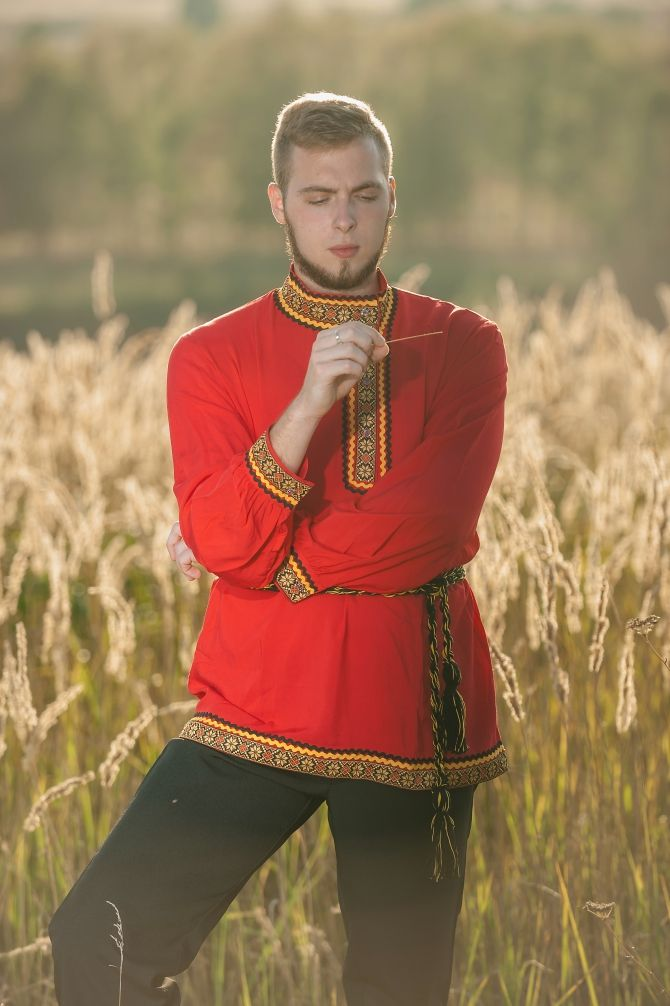 россия национальный костюм