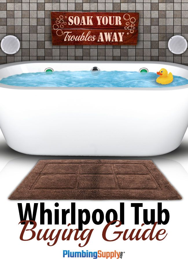 Whirlpool/Jetted Tubs Buying Guide | Jetted bathtub, Bathtubs and Luxury