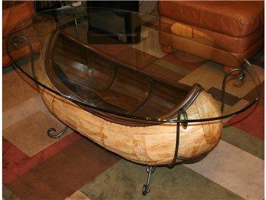 Canoe Coffee Table Glass Top.Canoe Coffee Table Glass Top Hipenmoeder Nl