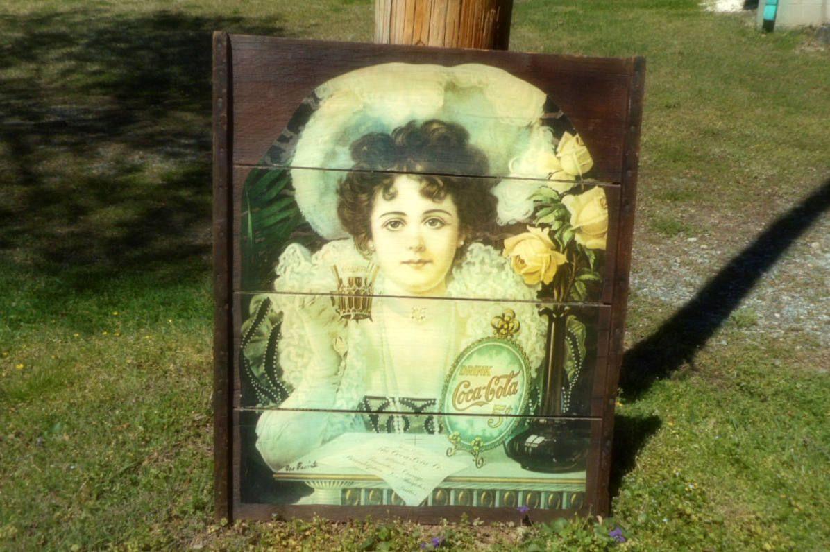 Grape Tray, Vintage Art, Coca Cola Advertisment, Coke Girl, Wall Art ...