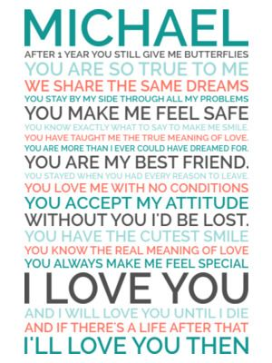 3f8613d0ecaa1 Generate a personalized poster gift for your sweetheart