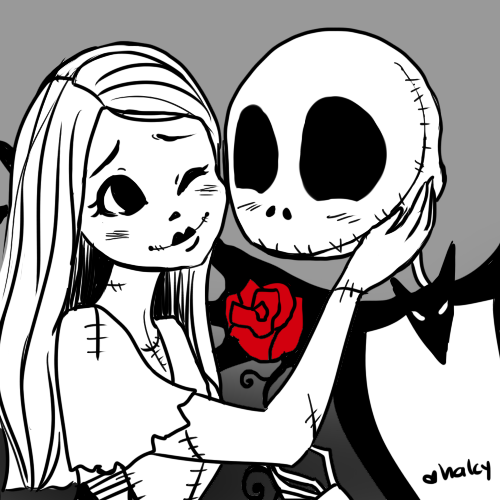Jack and Sally - The Nightmare Before Christmas