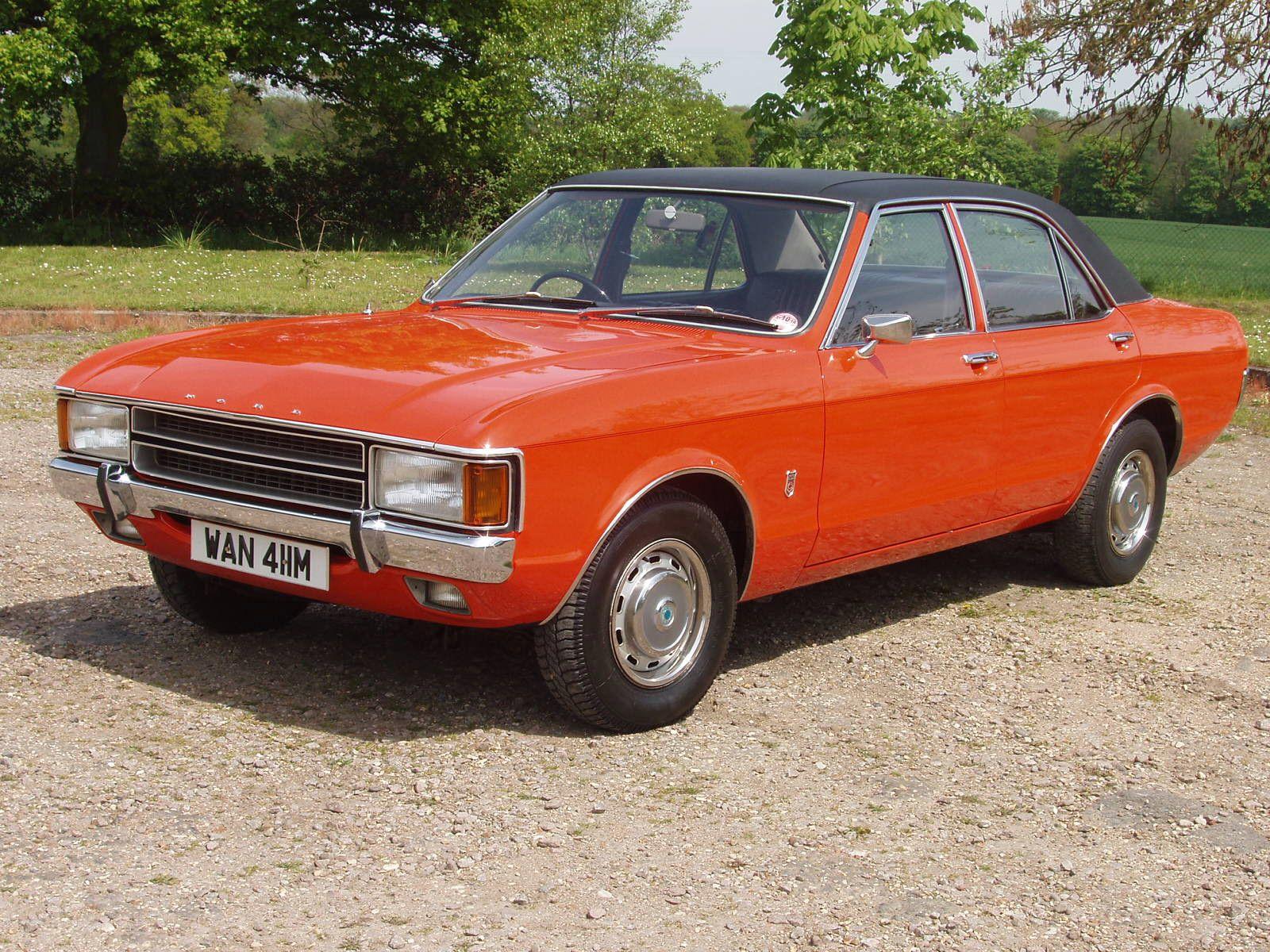 1973 Ford Consul 2 5 V6