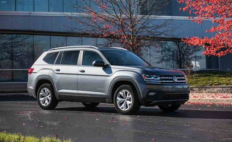 2021 VW Atlas (Coupe SUV, Truck, and more Volkswagen