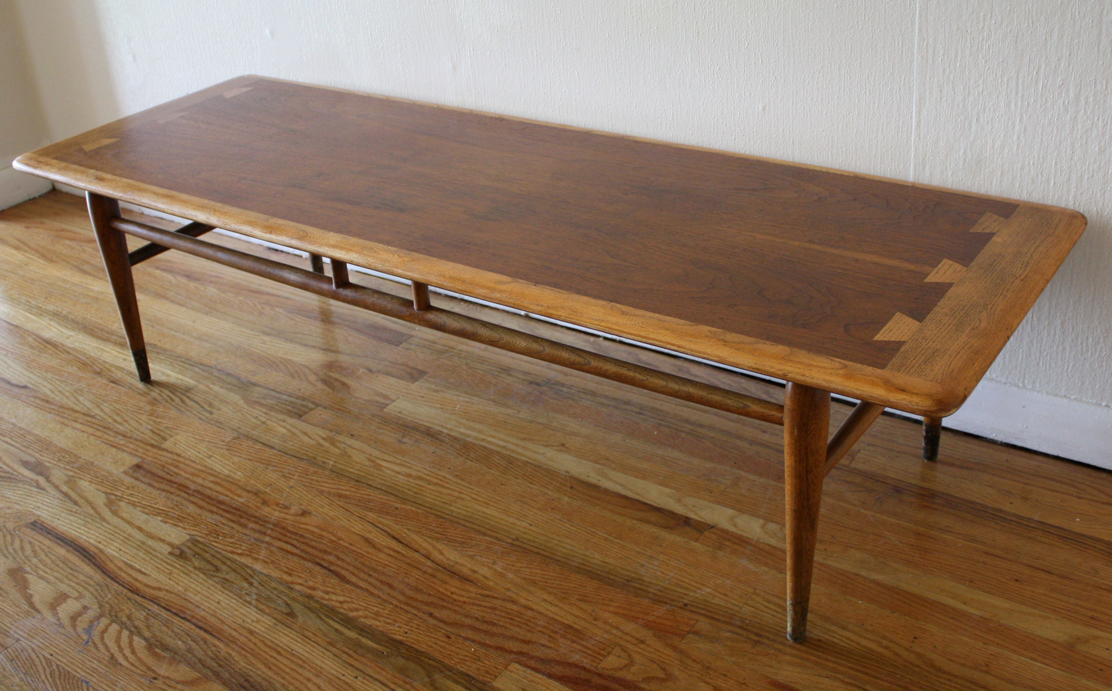 lane dovetail coffee table u2013 acclaim series this is a mid century modern coffee table