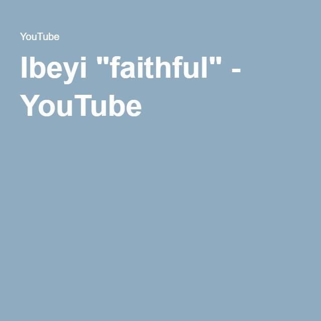 """Ibeyi """"faithful"""" - YouTube"""