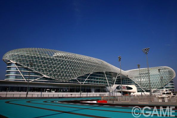 - Previews: F1 Grand Prix of Abu Dhabi  A general view of the track during previews ahead of the Abu Dhabi #FormulaOne Grand Prix at #YasMarinaCircuit in Abu Dhabi, United Arab Emirates. #AbuDhabiGP