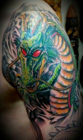 Dragon Ball z tattoo by Steve\'O Never Lost Tattoo sacramento ...