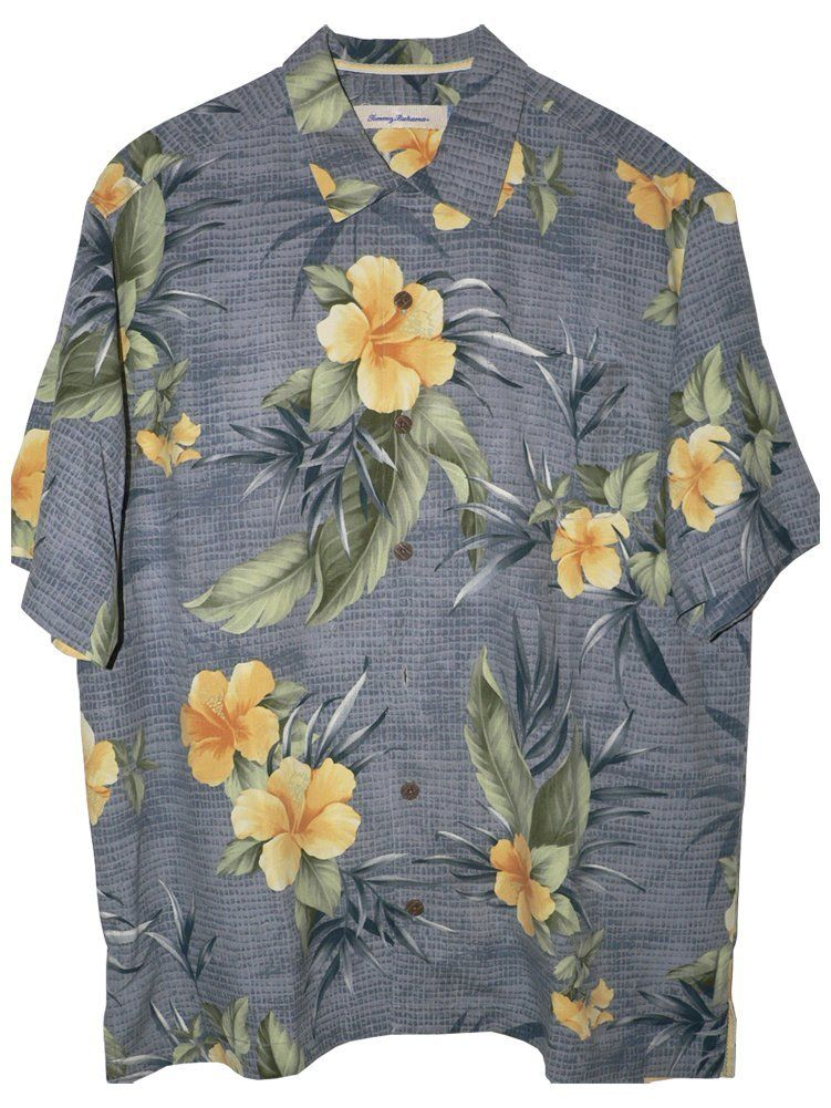 352b9deb Tommy Bahama Tropical Mosaic Silk Camp Shirt: Clothing http://tommytyme.com