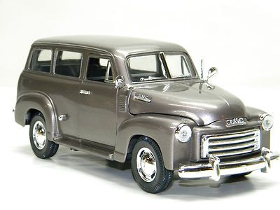 1950 gmc suburban truck mira 1 18 scale diecast model chevy suburban diecast cars pinterest. Black Bedroom Furniture Sets. Home Design Ideas
