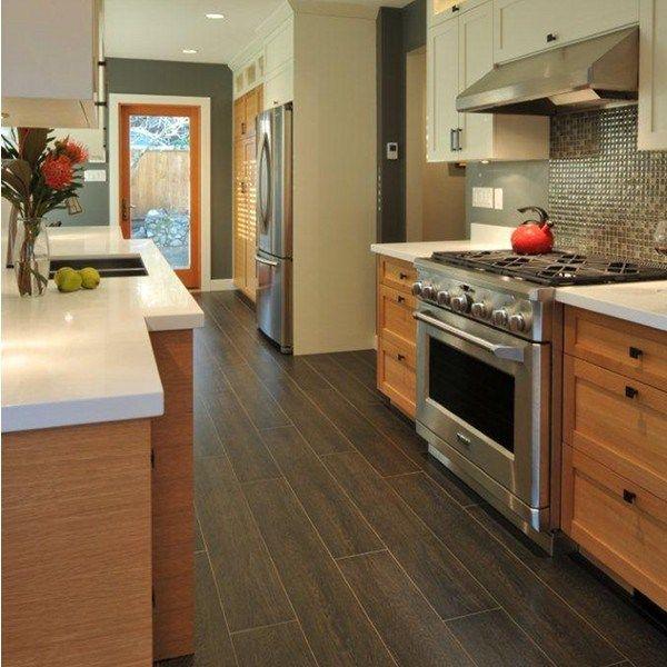 30 Kitchen Floor Tile Ideas Designs And Inspiration 2015 Kitchen Flooring Best Flooring For Kitchen Wood Tile Floor Kitchen
