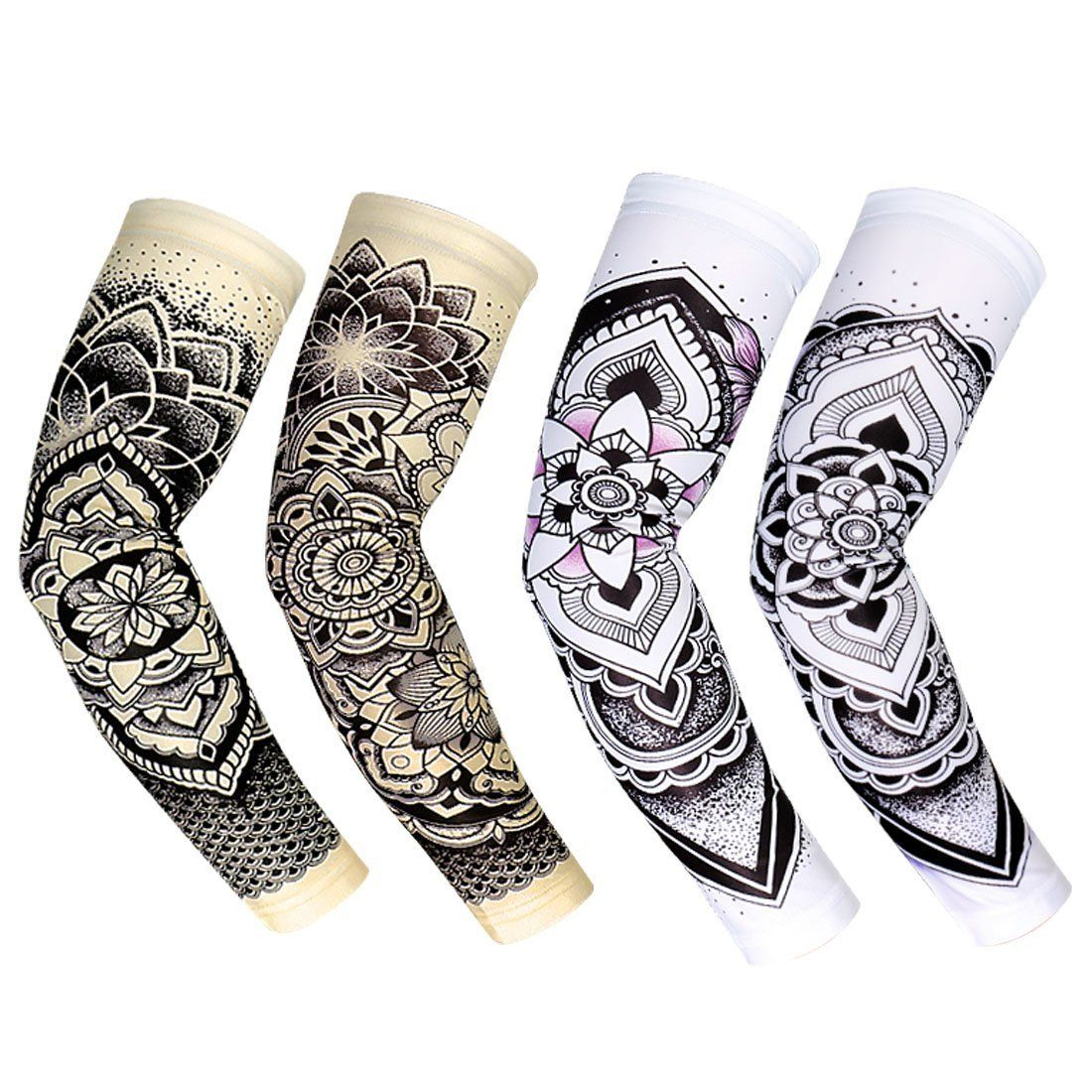 Amazon Com Rorytory Cooling Arm Elbow Compression Sleeve Sun Guard For Women Men Kid Youth Compression Sleeves Tattoo Sleeve Cover Up Outdoor Cycling