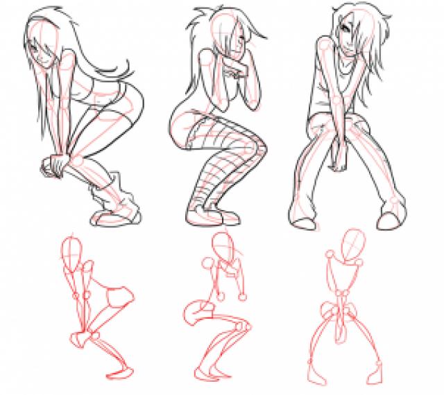 draw scene girls | how-to-draw-scene-girls-step-3 | tOOns MaG ...
