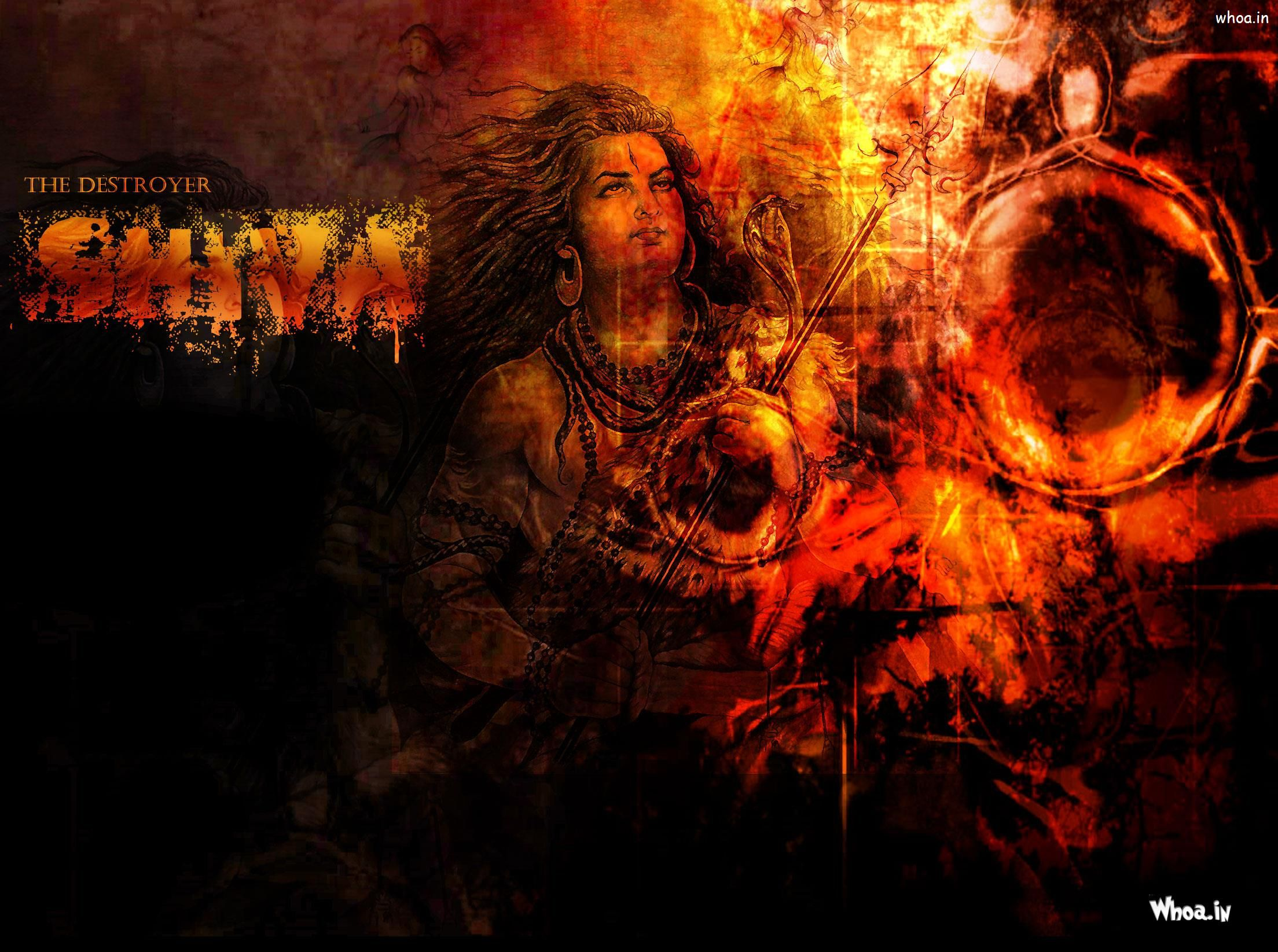 Download Shiva Animated Wallpaper Hd Gallery: The Destroyer Shiva Hd Wallpaper For Free Download
