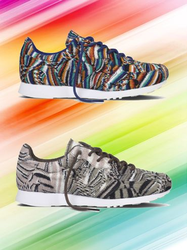 WE LOVE... Missoni voor Converse Auckland Racer collection - Nieuws - Fashion - Home - ELLE België