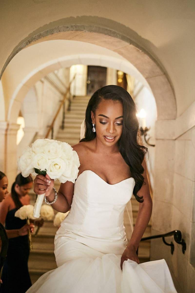 Lavish New York Mansion Wedding Via Black Bride Black Wedding