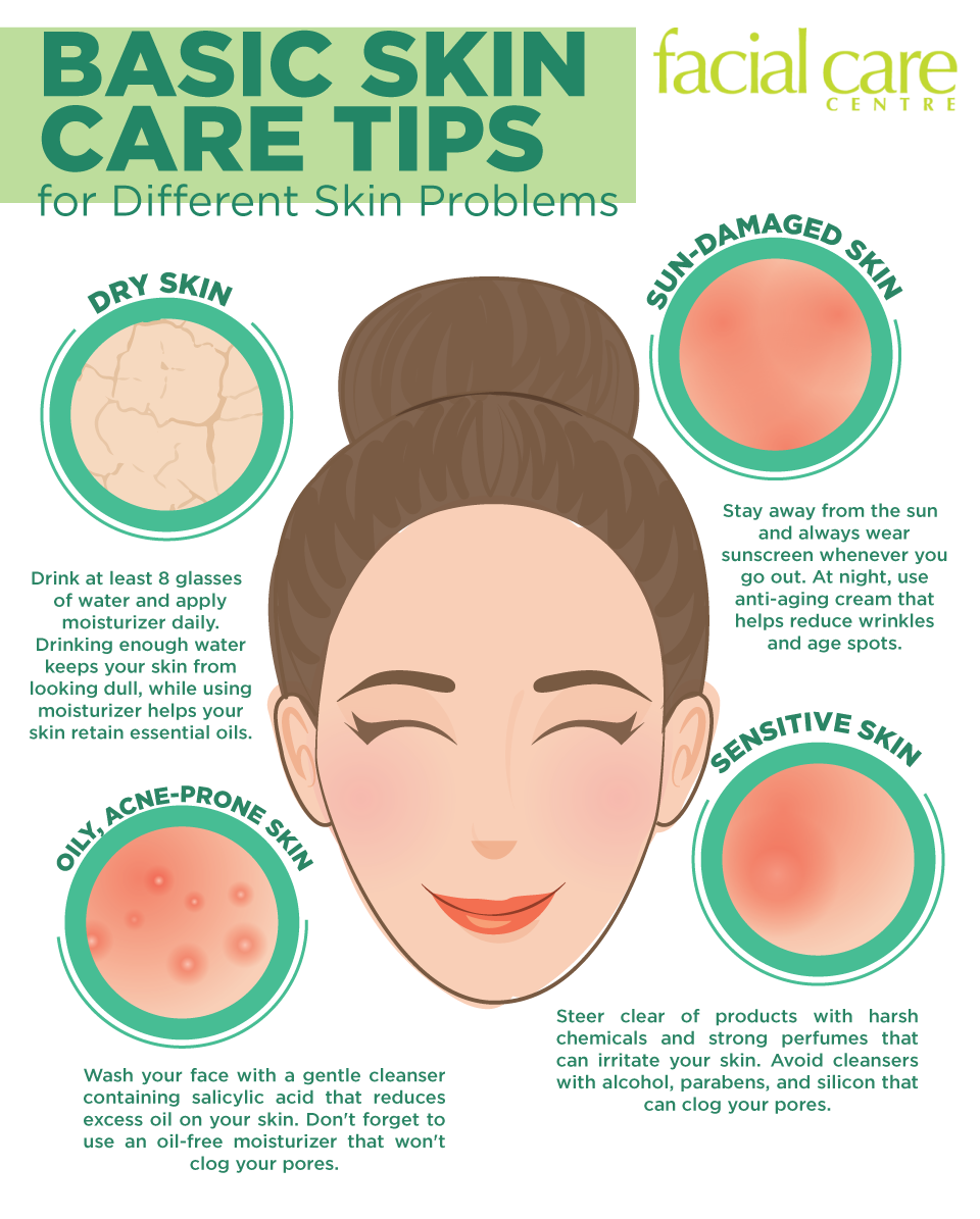 Basic Skin Care Tips for Different Skin Problems  Skin care tips