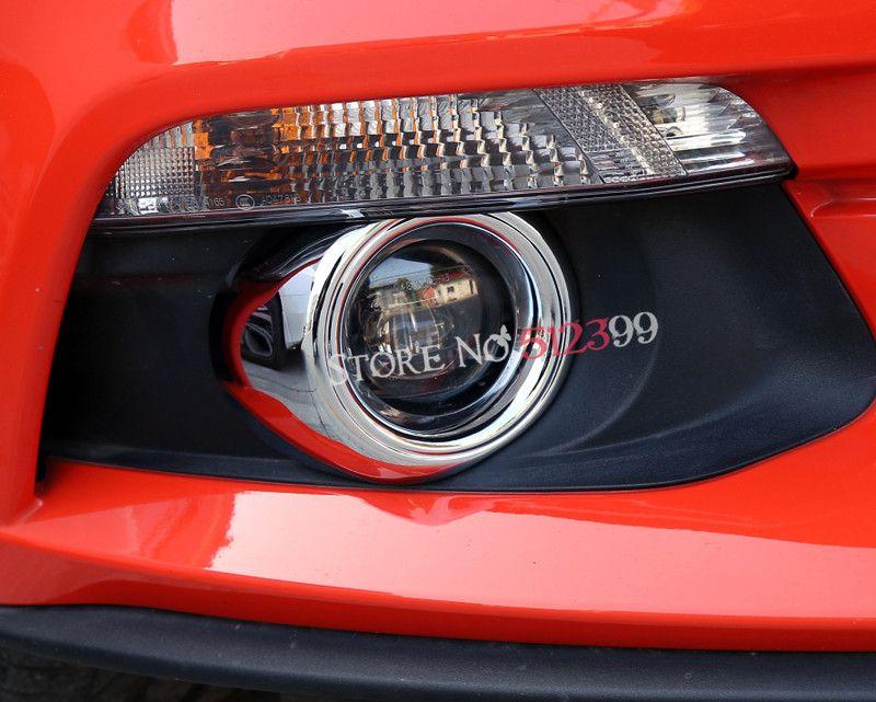 2pcs/set 3 Colors ABS Plastic Front Fog Lamp Light Cover