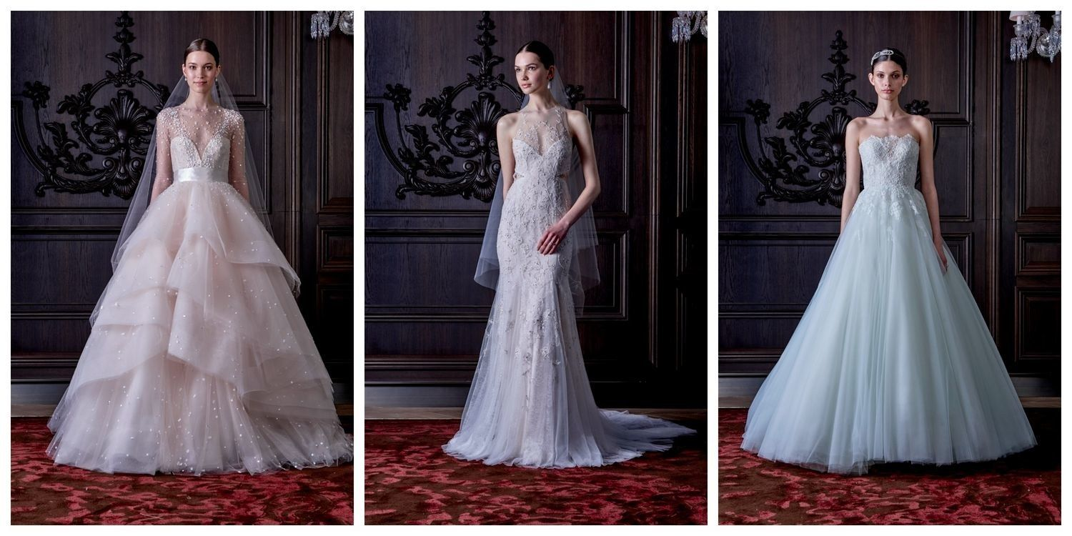 I feel like wedding dress designers sometimes fly off the handle. In ...