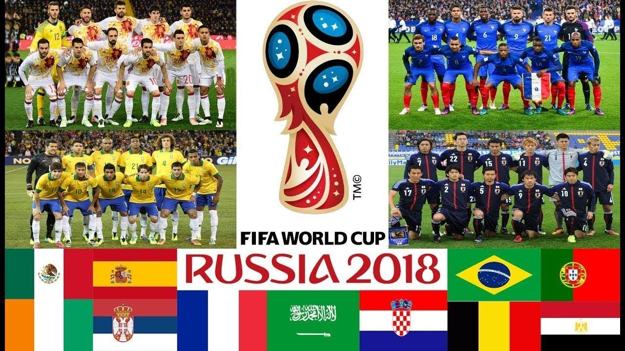 Fifa World Cup 2018 Final Draw Result And Guide To The Finals In Russia World Cup Schedule World Cup Fifa World Cup