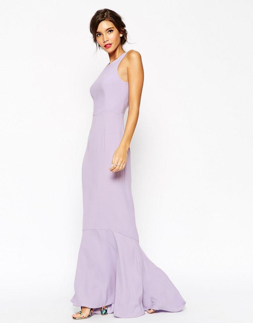 Lilac Maxi Dress Asos U2013 Online Uk