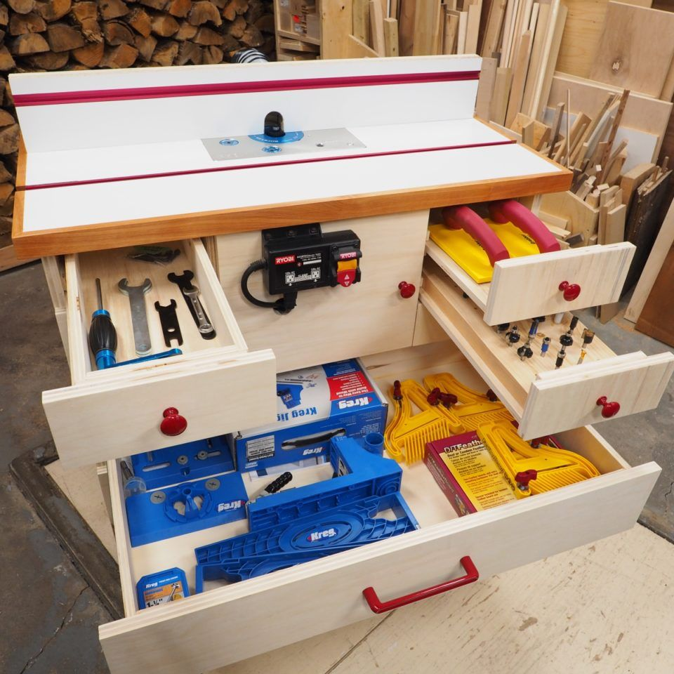 Router Cabinet Diy Router Table Build Diy Montreal