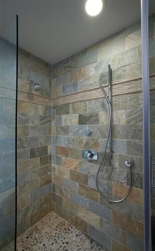 tile for shower and shower floor peacock slate river 14466