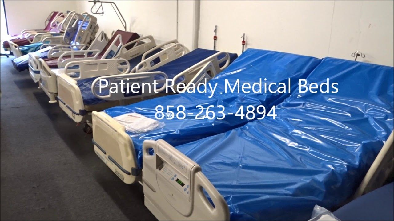 Medical Beds By Hill Rom And Stryker Hospital Bed Bed Refurbishing